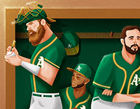 Play Ball Magazine - The A's Dream Team