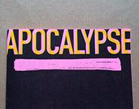 Apocalypse Zine #1 ZOMBIE