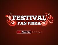 Spot Festival Pan Pizza - Pizza Hut