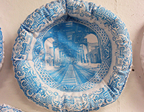 NYC China Plates