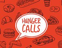 Hunger Calls - Branding
