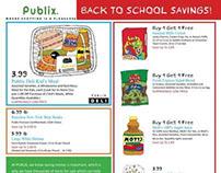 Publix Back-To-School Circular