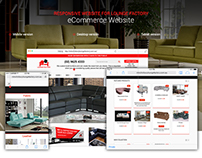 Lounge Factory eCommerce Website