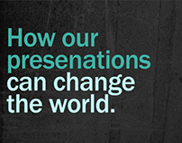 How Presentations Can Change the World