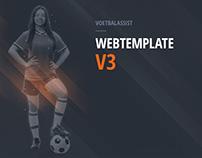 Soccer Webtemplate v3