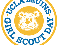 UCLA Sports Marketing: 2013 Girl Scout Patch Designs