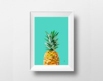 Ilustración Pineapple