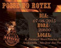 Convite e Capa de Posse - Rotex 4730