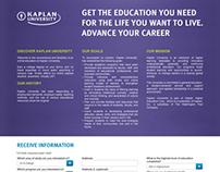 Kaplan Landing Page