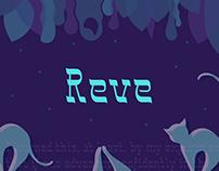 Reve | reverse contrast typeface