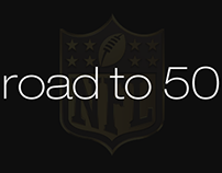 Road to 50 'NFL PLAYOFFS'