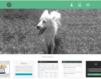 portfolio & mail client