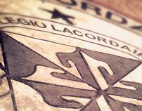 Diseño de anuario. Colegio Lacordaire Santiago de Cali