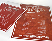 Store Hours Posters