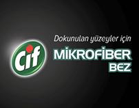 CIF MICROFIBER CLOTH - DISTURBING FINGER PRINTS