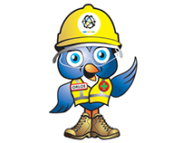 LeanCor Supply Chain Group mascot, Orloe the owl