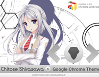 Chitose Shirasawa Google Chrome Theme