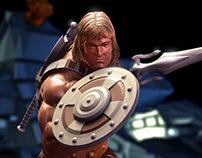 He-man 3D model