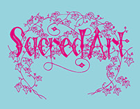 Sacred Art exhibition leaflet