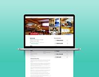 Wireframe prototype & redesign website| DBH