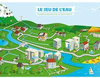 """""""Jeu de l'eau"""" -  Lyonnaise des Eaux - Groupe SUEZ"""