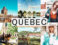 Free Quebec Mobile & Desktop Lightroom Presets