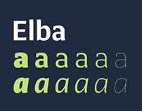 Elba | Typeface Family