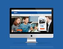 Site Crédito Vehicular - BCP