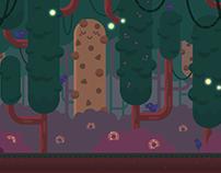 2D game background illustrations