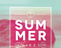 Summer Fade Poster Template