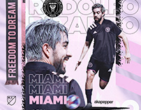 Inter Miami CF - New player Roldolfo Pizarro