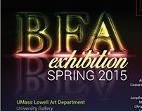 BFA Show Postcard