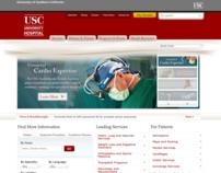 USC Hospitals Websites