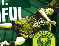Portland Timbers Print Advertising
