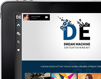 Dream Machine Logo Design