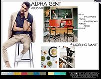 ALPHA GENT LIFESTYLE/AW17 APPAREL RANGE