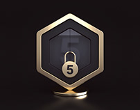 Locked badge