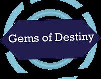 UI Design - Gems of Destiny