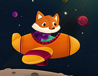A Fox On The Moon