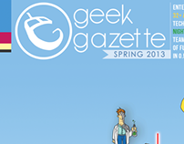 Cover Page - Geek Gazette Spring 2013