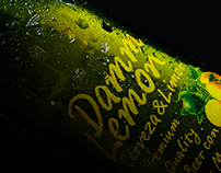 Damm Lemon Beer Packaging