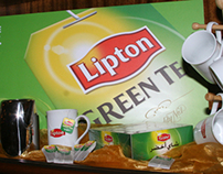 Lipton Green activation: ADD A LITTLE LIFE TO YOUR DAY