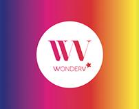 WonderV - Brand identity