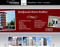 Germânia Website Proposal