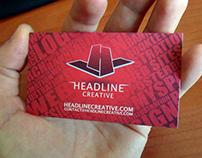 Business Card for Headline Creative