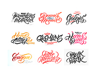 Lettering series 1