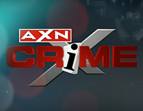 AXN CRIME - Brand Package Elements