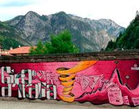 Graffito Giro d'Italia