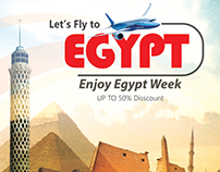 Travel Egypt Poster