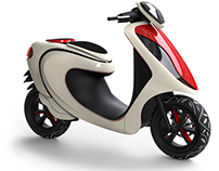 Urban scooter for India